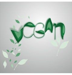 Vegan vector
