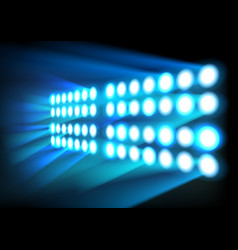 Wall of lights background vector