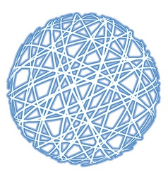 abstract sphere vector image