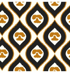Seamless texture with abstract pattern tribal vector