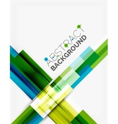 Geometrical design background straight lines on vector image