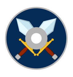 Isolated videogame cd icon vector