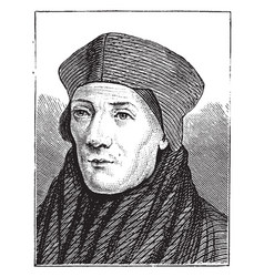 John cardinal fisher vintage vector