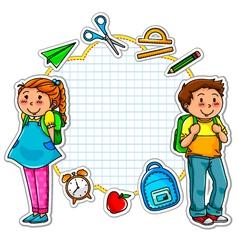 School collection vector