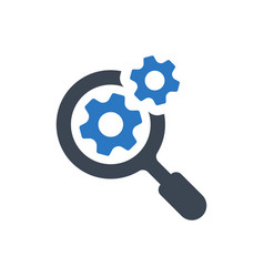 search engine icon vector image