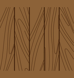 Wood background texture pattern timber board vector