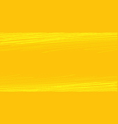 yellow background with scratches vector image