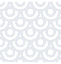 spiral circles seamless texture vector image vector image