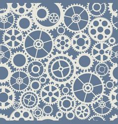 seamless wheel gear machine vector image