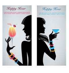 drink with me vector image vector image