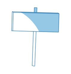 blank big billboard mockup for your advertisement vector image vector image