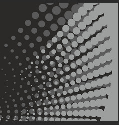 Abstract geometric black and white graphic design vector