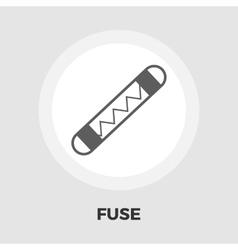 Automotive fuse flat icon vector