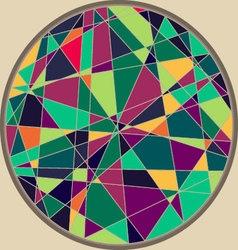 CircleMosaicPattern vector image