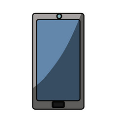 Isolated smartphone cellphone vector