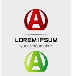 Letter A logo Creative concept icon vector image
