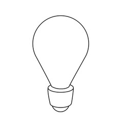 light bulb energy idea creativity image vector image