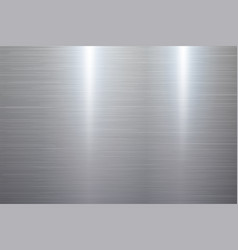 Polished metal texture vector