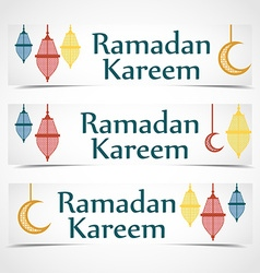 ramadan kareem background religion holiaday vector image