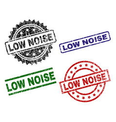 Scratched textured low noise stamp seals vector