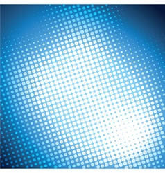 shiny blue halftone background vector image