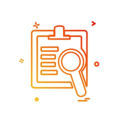 text icon design vector image