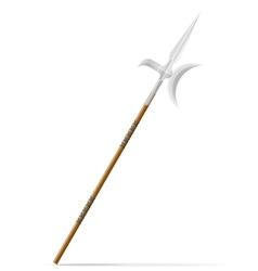 battle spear 02 vector image