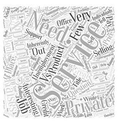 Genuine help vs exploitation word cloud concept vector