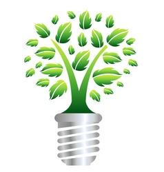eco energy concept vector image vector image
