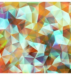 Geometric color background EPS 10 vector image vector image
