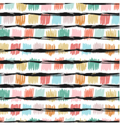 seamless pattern with fashion texture background vector image vector image