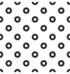 Circle loading bar pattern simple style vector
