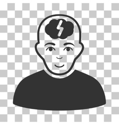 Clever Boy Icon vector