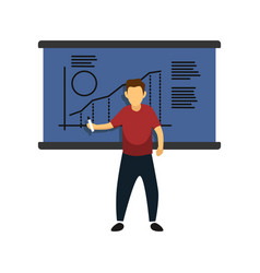 men presentation activity good for cutting file vector image