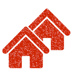 Realty grunge icon vector