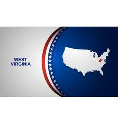 West Virginia vector