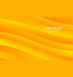 Yellow abstract modern background vector