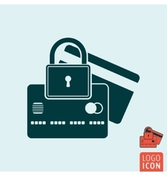 Secure icon isolated vector image vector image