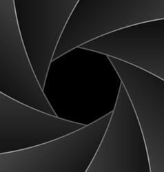 shutter aperture vector image