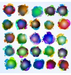 Speech bubbles Original EPS 10 vector image vector image