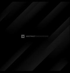 abstract black and gray modern diagonal stripes vector image