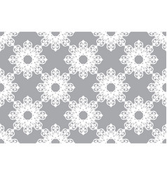 arabesque vintage abstract floral seamless vector image