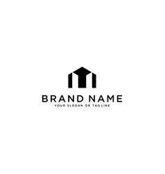 Building home logo design vector