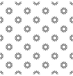 Circular loading pattern simple style vector