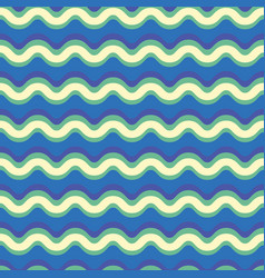 curved waves stripes lines pattern seamless vector image