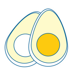 Eggs icon image vector