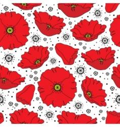 oppy pattern vector image