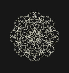sacred geometry 0024 vector image