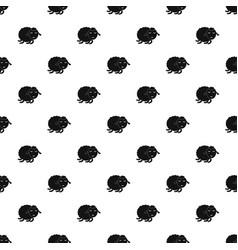 sleeping sheep pattern seamless vector image