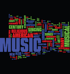 The art of music text background word cloud vector